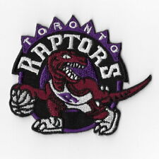 NBA Toronto Raptors Iron on Patches Embroidered Badge Patch Applique Sew Purple