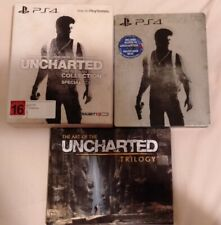 Uncharted The Nathan Drake Collection Special Edition - PS4 - MINT - RARE