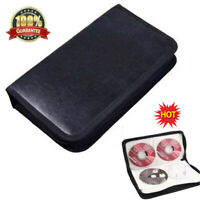 Disc Case CD Holder DVD Case Storage Wallet VCD Organizer Bag Black BEST