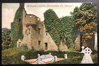 1911 Rathmullen England Picture Postcard cover To Dublin Swine Castle