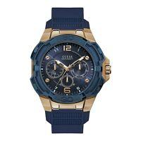 Guess Genesis Quartz Blue Dial Men's Watch W1254G3