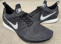 Nike Air Zoom Mariah FlyKnit Racer Men's 10.5 Running Shoes Black