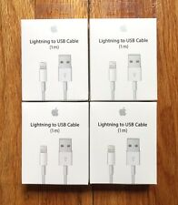 4 PACK - OEM  Original Lightning USB Charger Cable For Apple iPhone 6 6s 6 Plus