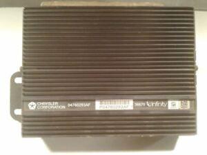 Audio Equipment Radio Amplifier 320 Watt Fits 02-04 300M 1356898
