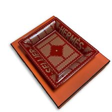 Hermes Ceramic Classic Red Change Tray Ashtray