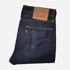 Levis 510 30W 32L Mens Jeans Skinny Fit Dark Blue Stretch Denim ENGINEERED