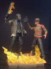 NECA Freddy Vs Jason Ultimate Deluxe CUSTOM figure set EXTRAS Krueger Voorhees