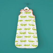 Cosatto Children's Crocodile Smiles Duvet Cover, Sleeping Bag Bedroom Range Grey