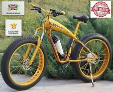 ELECTRIC Mountain Bike, Ebike, Grasso PNEUMATICO