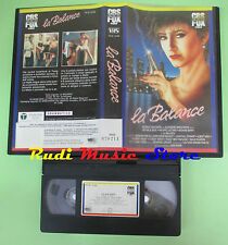 VHS film LA BALANCE 1990 Bob Swaim CBS FOX VF-M 12462 94 minuti (F32)no dvd