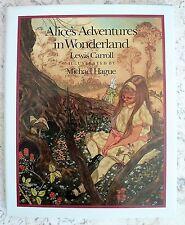 1st Ed ALICE'S ADVENTURES IN WONDERLAND Illust Michael Hague 1985 HC@DJ