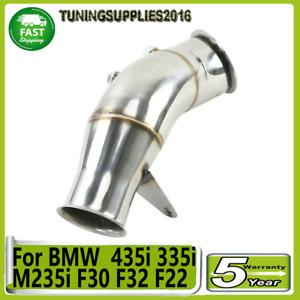 "For BMW F30 F32 F22 F20 2013-19 435i 335i M235i M135i M135 4"" Catless Downpipe"