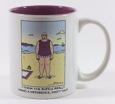 Collectible Vintage Hallmark Ruffle Swim Suit Beach Coffee Mug
