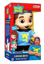 Luccas Neto Boneco Articulado (Official Articulated Doll with Sound) - Import