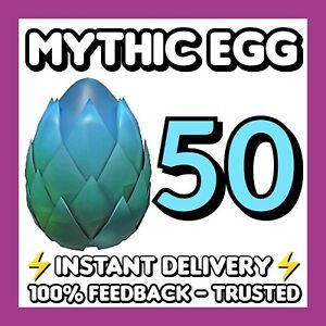 50x MYTHIC EGGS art w/gift🌟🥚 Adopt Me - Mega Fast INSTANT Delivery⚡Readme! 🌟