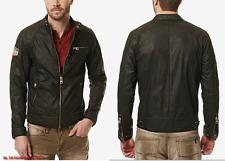 BUFFALO DAVID BUTTON Men Jailon Moto Jacket size L NEW NWT $139