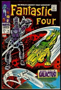 Fantastic Four #74...FVF 7.0...Silver Surfer and Galactus appearance and cover