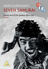 DVD:SEVEN SAMURAI - NEW Region 2 UK