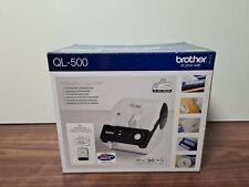 Etikettendrucker QL-500 von Brother • NEU / UNBENUTZT / ORIGINALVERPACKT!