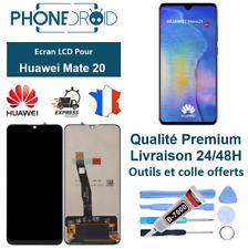 écran complet LCD + vitre tactile Huawei Mate 20 Black + Outils, stock en Fance