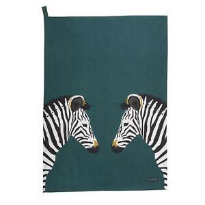 Sophie Allport Tea Towel - Zebra