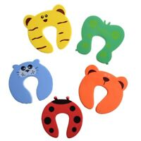 5x Baby Kids Door Jammer Finger Pinch Guard Child Toddler Infant Safety Pro C4T7