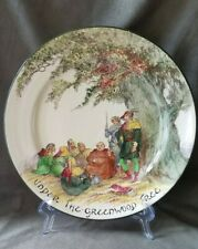 """Royal Doulton Plate """"Under the Greenwood Tree"""" England 10.5� Robin Hood Story"""