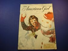 The American Girl Magazine January 1950 Susan Steps Out Ski Etiquette Teen M485