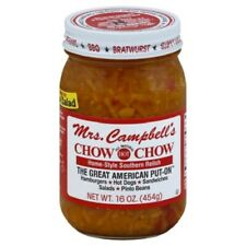 Mrs. Campbell's Hot Chow Chow Home Style Southern Relish