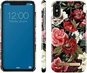 iDeal Of Sweden Case for iPhone X & XS (Fashion Prints) (Antique Roses)