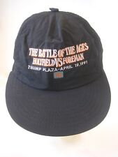 BOXING~HOLYFIELD FOREMAN 1991 WORLD CHAMPIONSHIP~HAT/CAP~BATTLE OF THE AGES TVKO