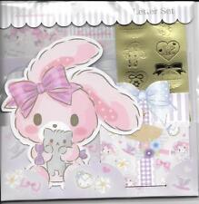 Sanrio bonbonribbon Briefpapier Umschlag Aufkleber groß Set Blumen