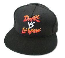 Drake Vs Lil Wayne Gradient Black Baseball Cap Hat New Official Adult OSFM