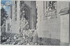 WW1 ARRAS France Smashed Church Patriotic GERMAN Colour Propaganda PC 1916