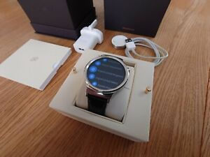 Huawei W1 115016 Classic Smartwatch - Black, boxed, Android Wear