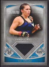 2017 Topps UFC Museum Collection Meaningful Material Relics Cat Zingano 33/75