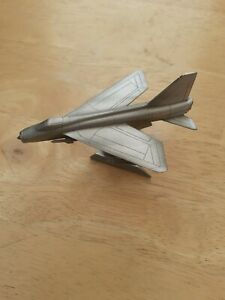 Royal Hampshie Art Foundry.  Pewter. Lightning Fighter Plane. Boxed