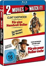 FÜR EINE HANDVOLL DOLLAR + FÜR EIN PAAR DOLLAR MEHR (2 Blu-ray Discs) NEU+OVP