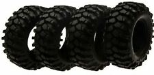 1.9 Inch 96mm Tires for Tamiya 1:10 High Lift F-350 Toyota Hilux Tundra, 4pc