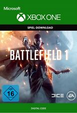 Xbox One - Battlefield 1 Spiel Key Microsoft BF 1 Digital Download Code [DE][EU]