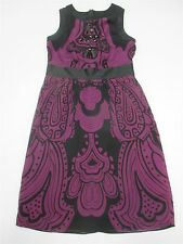 THE LIMITED #DR175 Women's Size 0 Jodi Arnold Classic Beaded Purple Sheath Dress