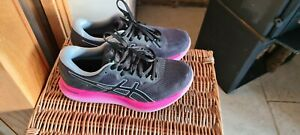 Asics GlideRide Womens Running Shoes - Pink and black