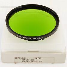 B + W G B70 Verde per Hasselblad Distagon 50 CFI planare FE 110 2 Sonnar TeleTessar
