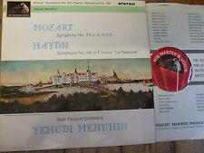 ASD 595 Mozart / Haydn Symphonies / Menuhin S/C