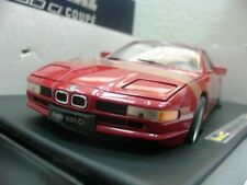 WOW EXTREMELY RARE BMW E31 850Ci 5.4L V12 1994 Imola Red 1:18 Revell-503/507/530