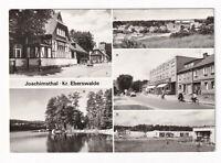 uralte AK Joachimsthal Bahnhof Werbellinsee Teilansicht Einkaufzentrum 1985 //03