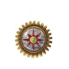 Dark Souls Solaire of Astora Sun Brooch Badge Pin Jewelry Sunlight Shield Symbol