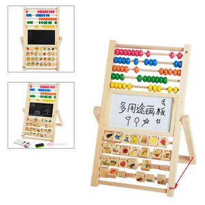 Drawing Board Montessori Colorful Abacus Educational Math Toy for Children