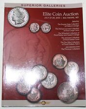 Superior Galleries Elite Coin Auction Catalog July 2003 Baltimore WW4LL