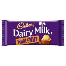 13x Cadbury Dairy Milk Whole Nut Chocolate Bar 200G ***FULL BOX***
